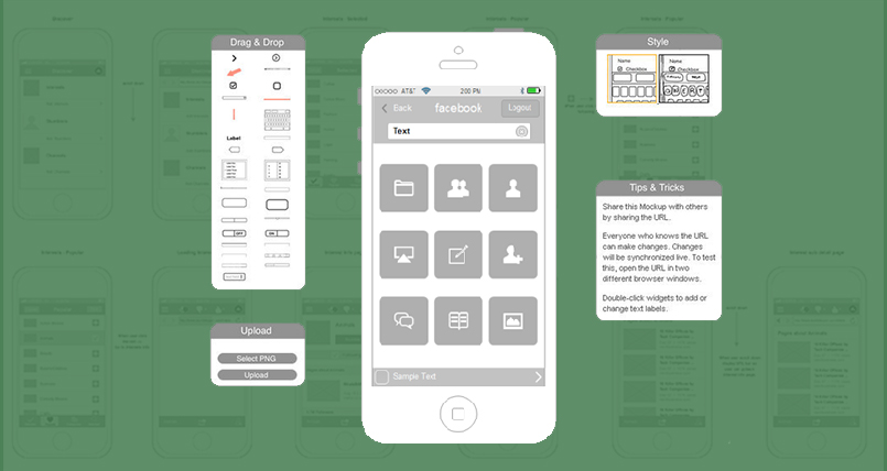 10 Free & Latest Wireframe Tools and Templates