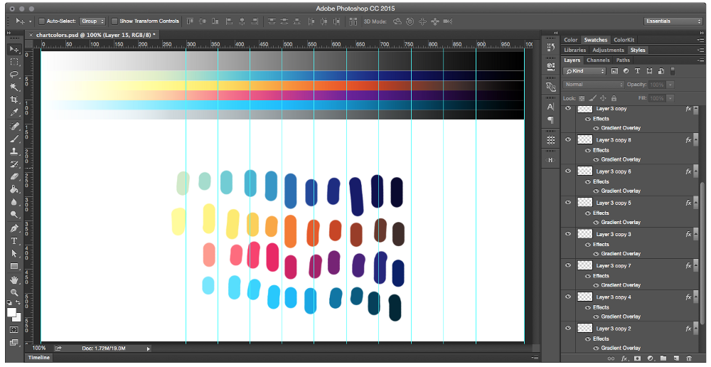 Color use and Gradients