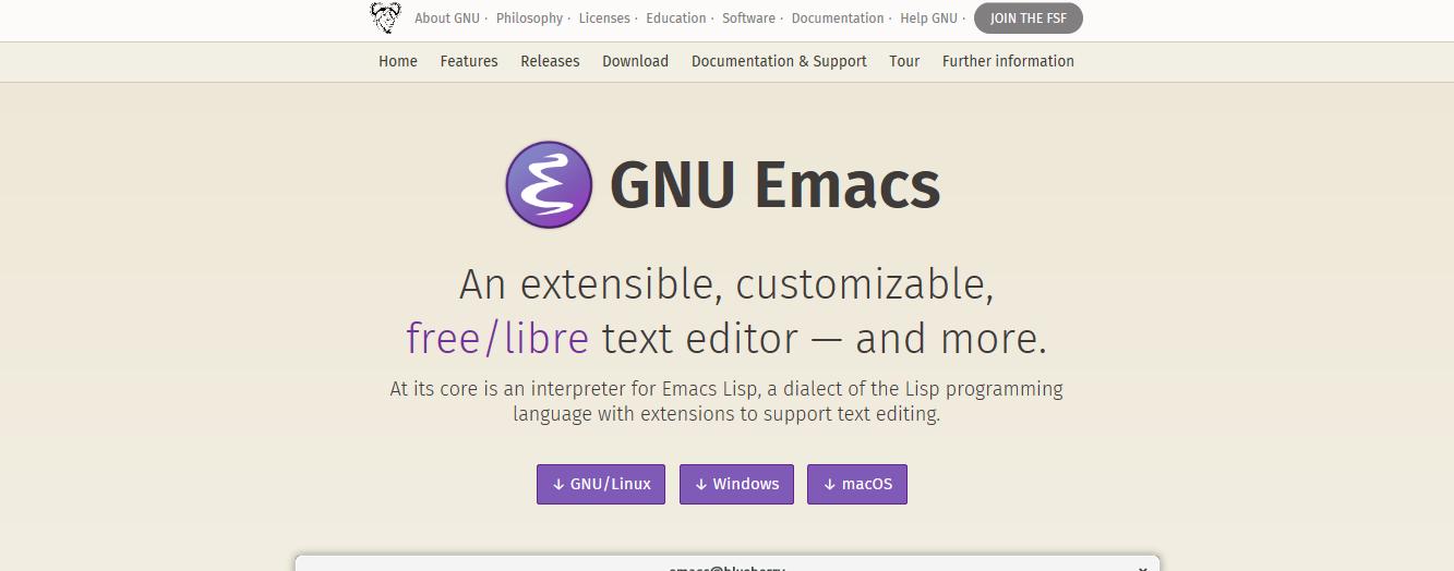 Emacs Profile