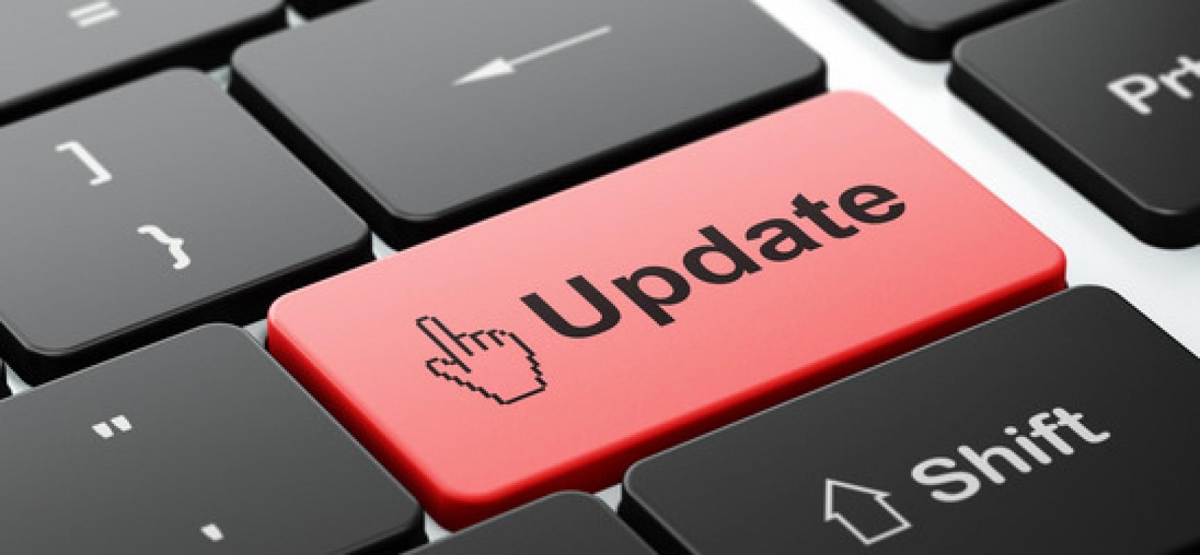 Maintain an updated website