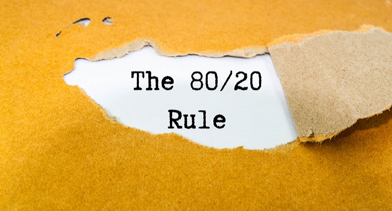The 80-20 rule