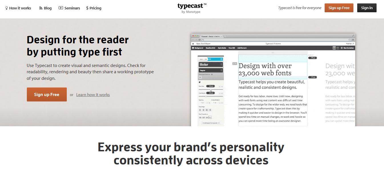 Typecast beta