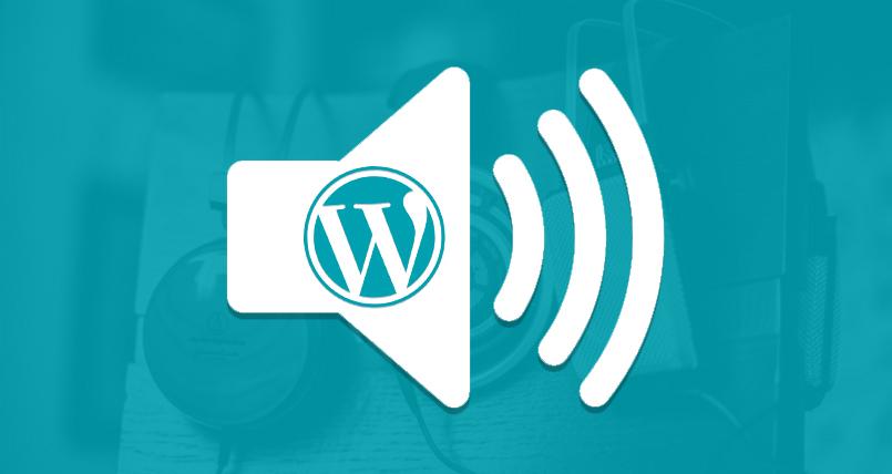 Audio WordPress Blog