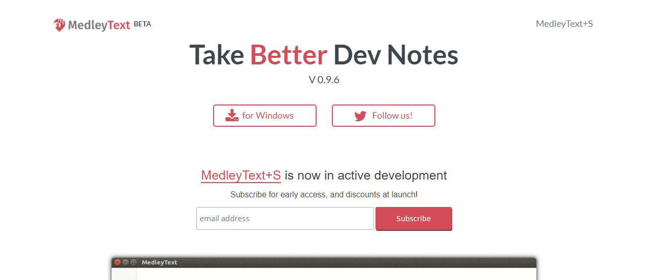 best note taking app MedleyText