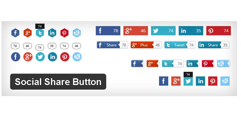 Social Share Button