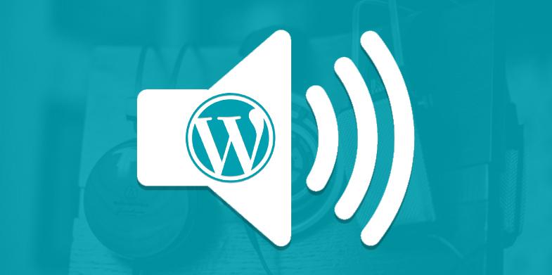 WordPress Audio Blog