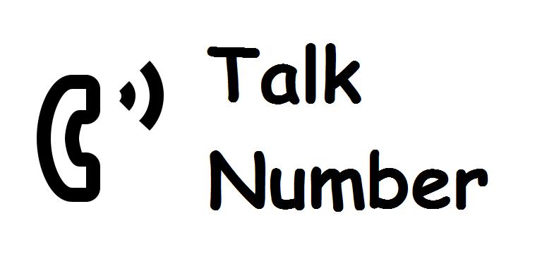 Talk Number