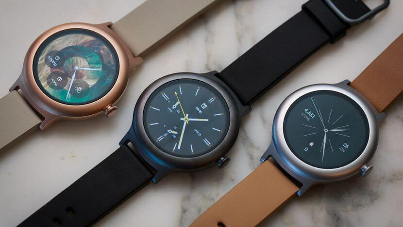 Various Smart Watches