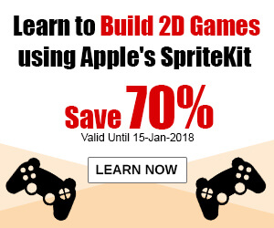 Learn to Build 2D Games using Apple