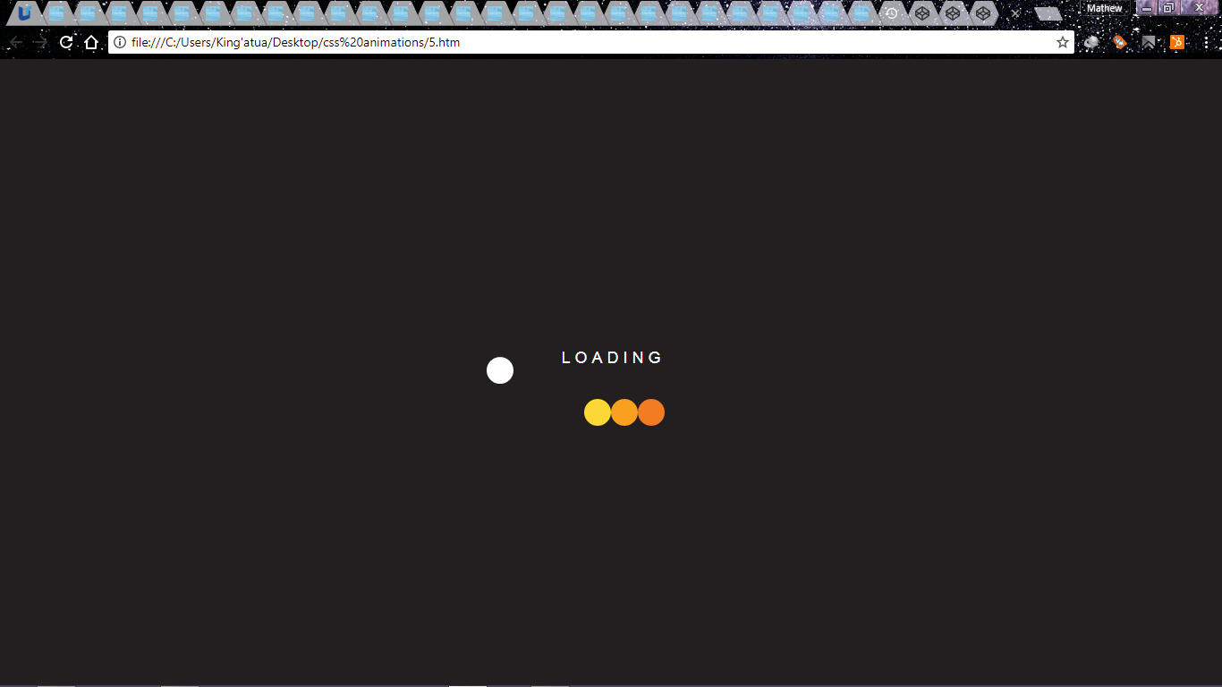 loading animation 1