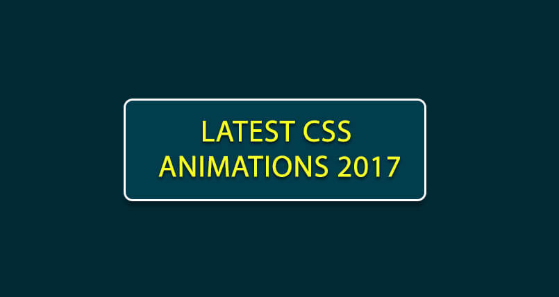 CSS Animations 2017