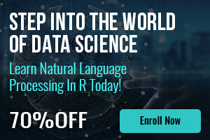 Learn Natural Language Processing in R - Flash Sale