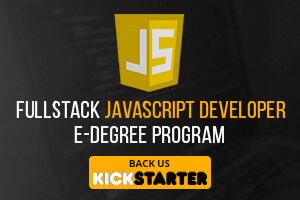 The FullStack JavaScript Developer E-Degree