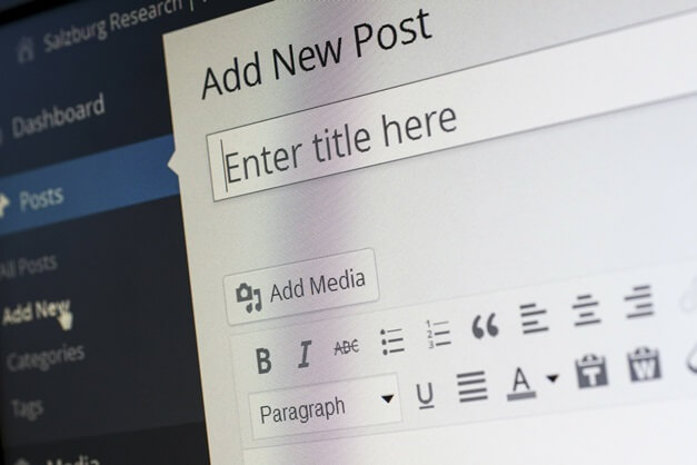 Image 1 showing wordpress posting option