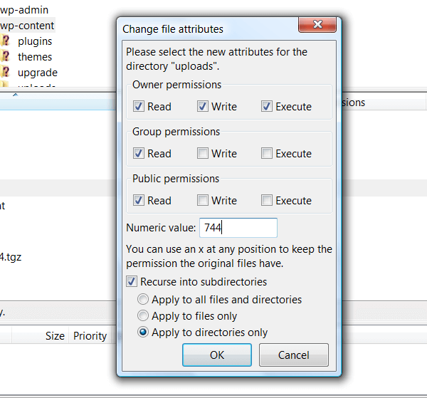 Change File