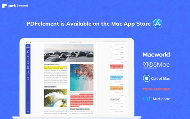 PDFelement for Mac