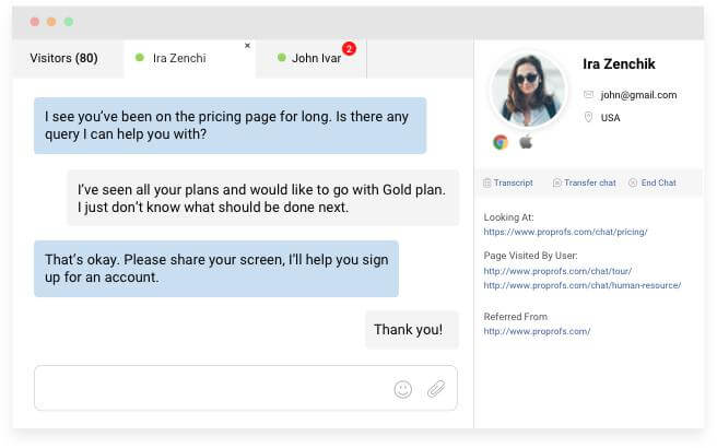 Live Chat Brings Convenience to Customers