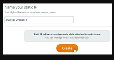 Name Your Static IP