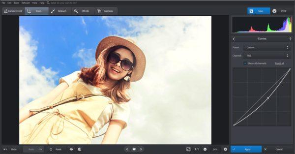 PhotoWorks professional tool
