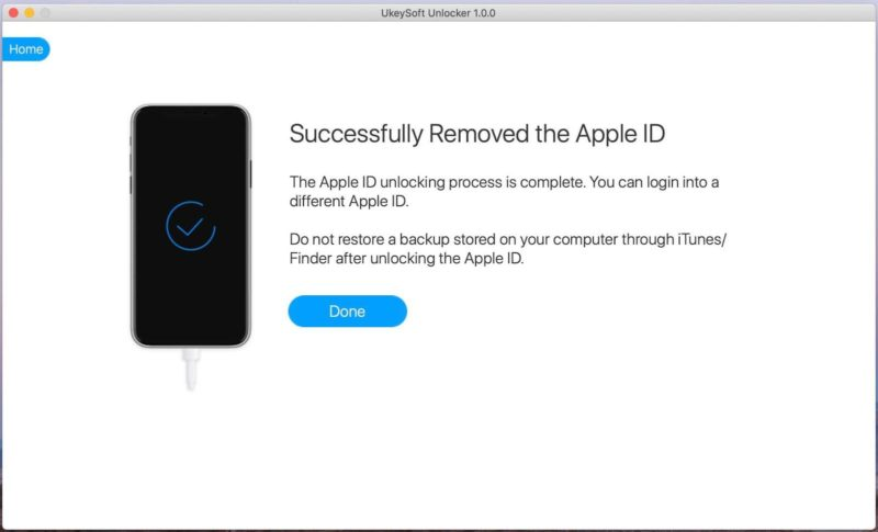 apple id removed- image 12