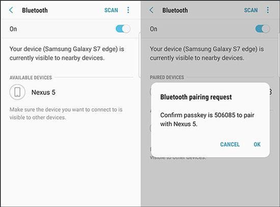 Bluetooth para Android para Android Transfer