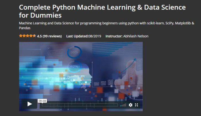 Complete Python ML & Data Sc