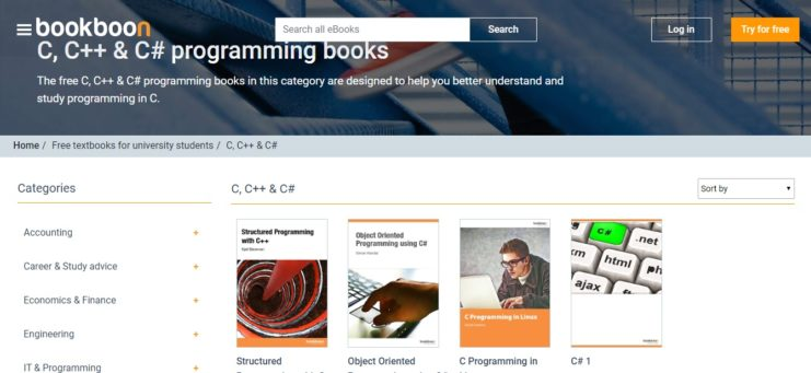 bookboon- For Learning C# Programming