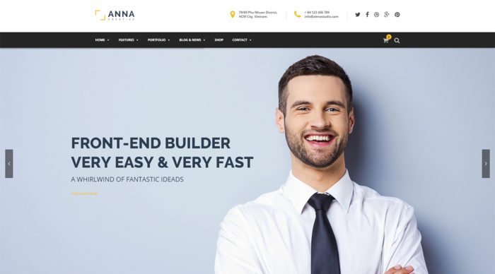 Anna-WordPress-Theme
