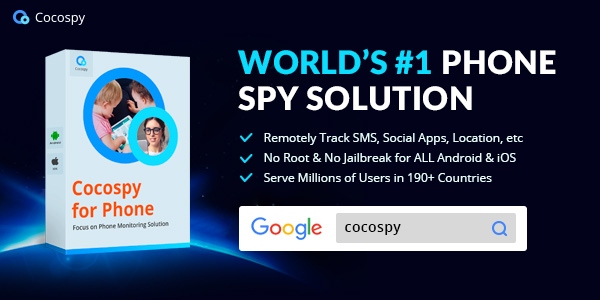Cocospy- world first cell phone spy