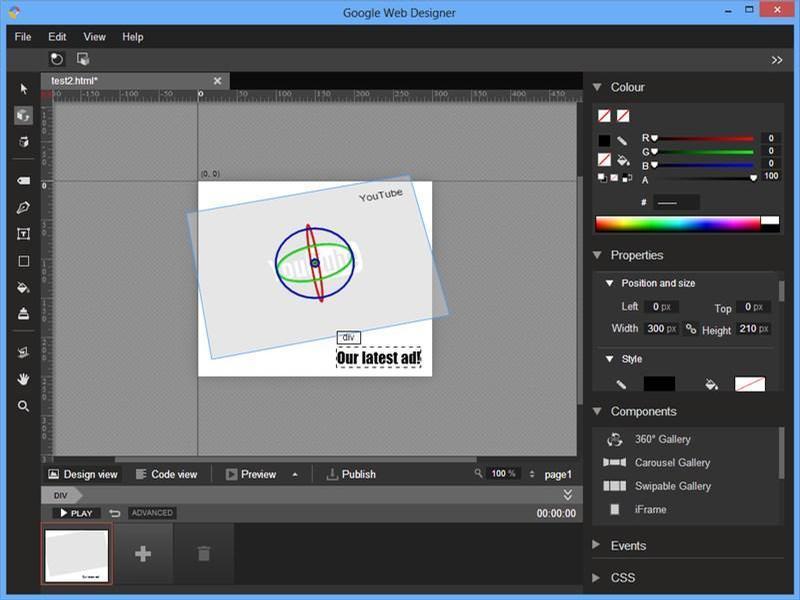 Google web designer - 8