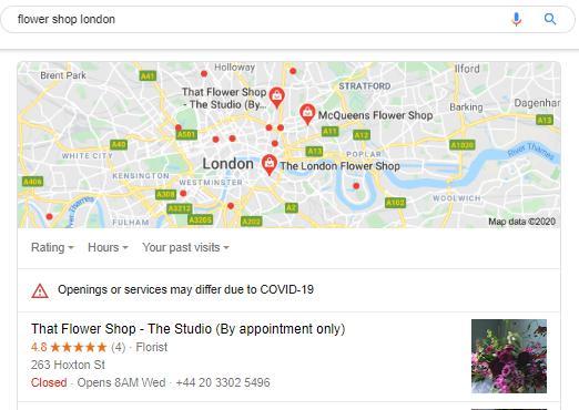Local Listings - Google