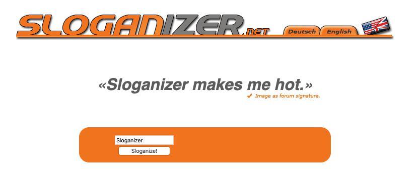 sloganizer