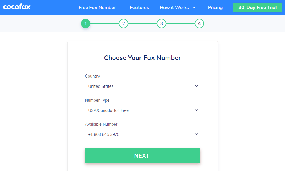 free-trial-choose-fax-number-3