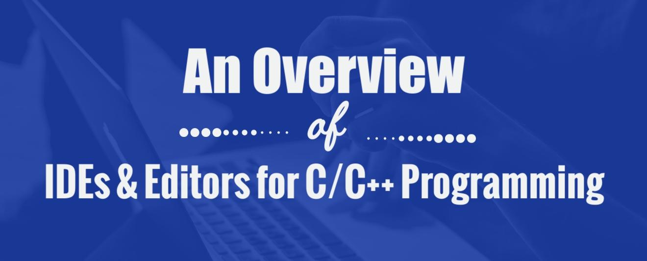 C++ IDEs, C IDEs header - infographics 1