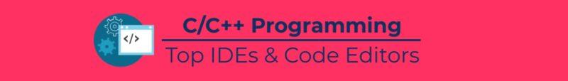 C/C++ IDEs & Editors inforgraphics 5