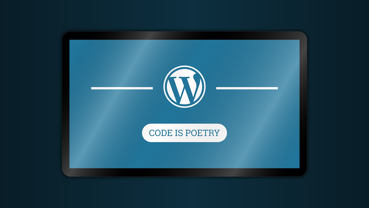 wordpress-code is poetry
