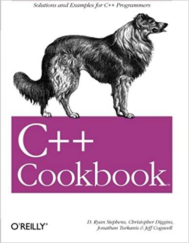 13. C++ Cookbook