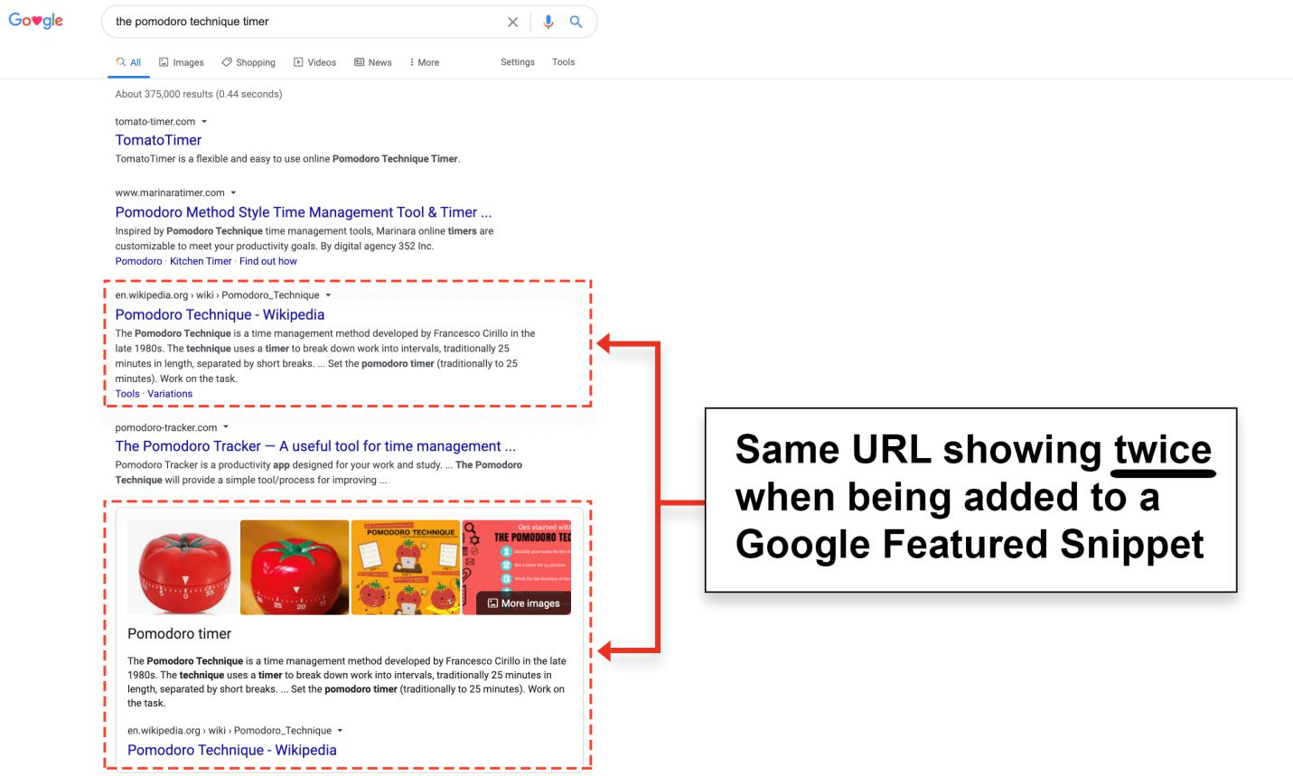 benefits of featured snippet