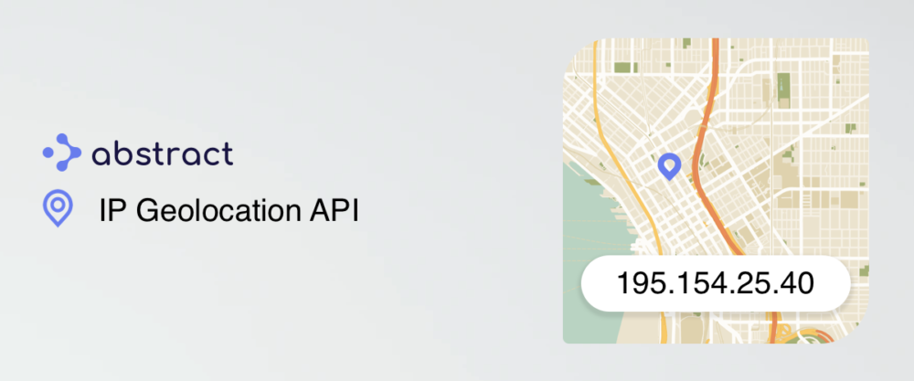 39. IP geolocation API