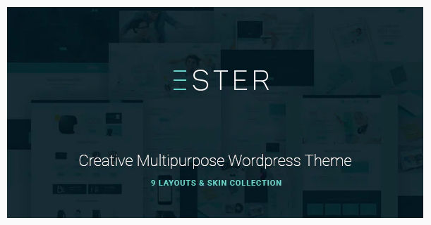 Ester - A Stylish Multipurpose WordPress Theme