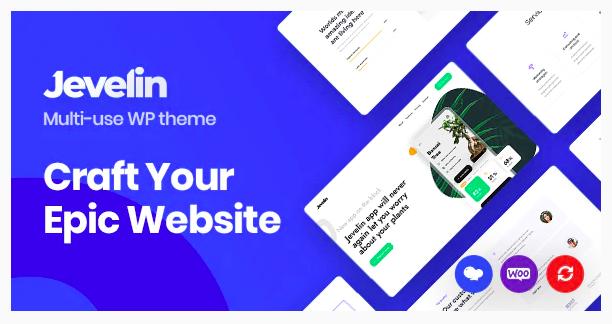 Jevelin - Multipurpose Responsive WordPress Theme
