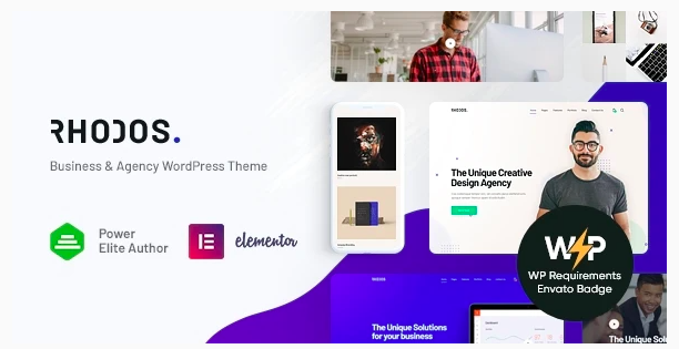 Rhodos - Multipurpose WordPress Theme