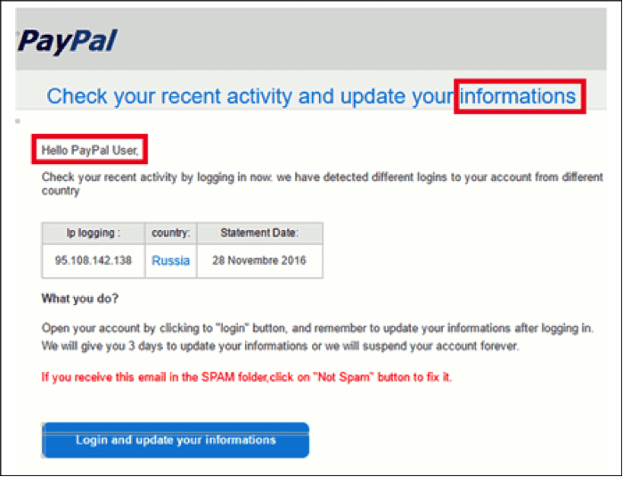 PayPal- Scams may or may not be easily detectable- image 1