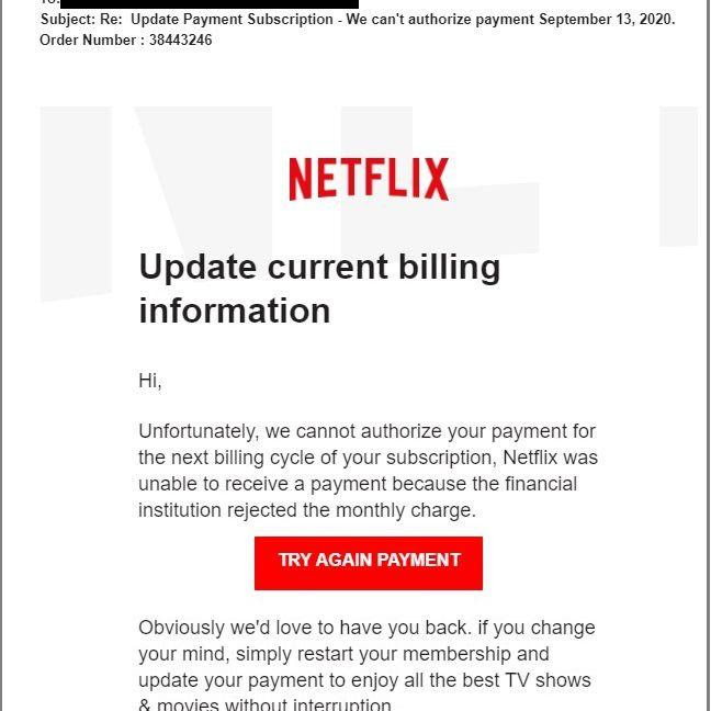 Scams may or may not be easily detectable- netflix - image 2
