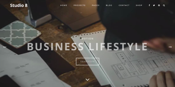 Studio 8 WordPress Theme