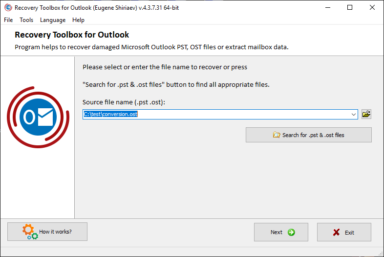 outlook-4- recover toolbox