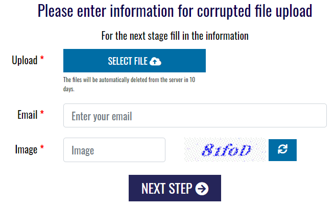 outlook-5- corrupted file