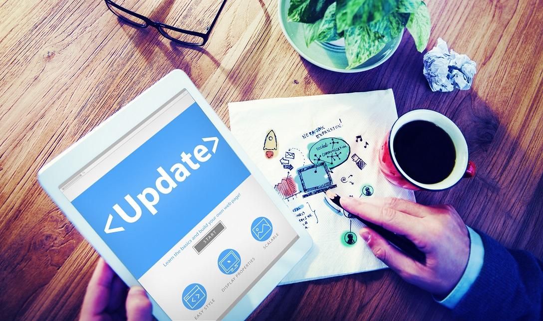 Digital Online Update, Upgrade Office Working, update tab